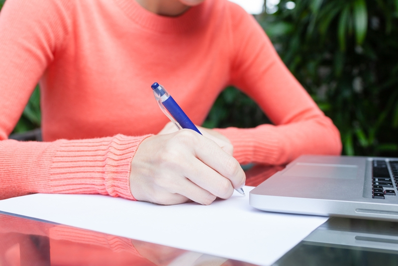 Copying content from a book can lead to legal trouble.